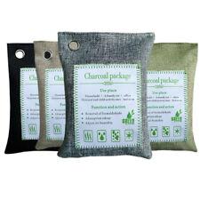 1Pcs Natural Air Purifying Bag  Bamboo Charcoal Air Freshener Deodorizer