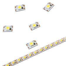 ✅ 9,5cm 5050  LED Streifen, warm - neutral weiß Modellbau, jede LED kürzbar, 12V