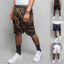 Men's Basic Workout Athletic Gym Jersey Mesh Basketball Shorts  S~5XL   JS01-E1H