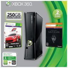 Microsoft Xbox 360 Holiday Bundle 250GB Black Console (R9G-00165)