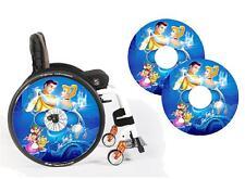 Sedia a rotelle ha parlato Guard Skins Principessa Custom Design Personalizzato Bambini e Adulti
