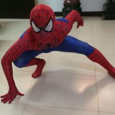Spiderman Cosplay Costume Avengers Fancy Adult Jumpsuit Kid Boy Men Superhero Uk