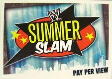 Slam Attax Evolution  #185 Summerslam
