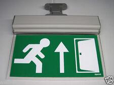 LED Fluchtweg Notleuchte Notlicht Fluchtwegleuchte Notausgang Notbeleuchtung NEU