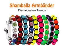 Shamballa Armband EM WM Neon Strass Glücksbringer Polaris Energie Armbänder NEU
