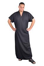 Eleganter Herren Kaftan Hauskleid aus1001 Nacht, schwarz, KAM00319