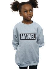 Marvel Bambine e ragazze Logo Outline Felpa
