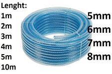 Fuel Pipe Reinforced PVC Rubber Hose Petrol,Oil, Diesel size: 5mm, 6mm, 7mm, 8mm