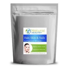 Pelo de la piel y las uñas-Colágeno sílice anti envejecimiento Formula 30-360 Cápsulas