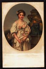 c1908 Stengel art by Jean-Baptise Greuze La Cruche Cassee postcard