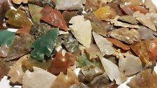 Pakete 10-100 Stück polierte Pfeilspitzen Steinzeit Nachbau punta freccia flecha