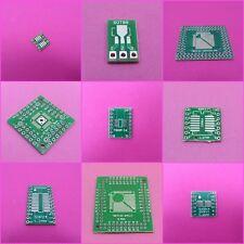 PCB Converter Board SOP donc TSSOP MSOP Sot QFP TQFP LQFP to DIP Adaptateur Plaque