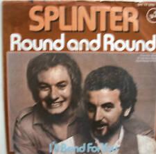 """7"""" 1977 RARE ! SPLINTER : Round And Round // MINT- \"""