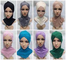 Muslim Hijab Full Cover Under Scarf Ninja Inner Arab Plain Hat Cap Bonnet