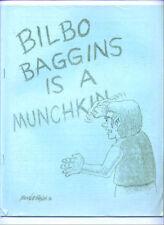 1976 fanzine BILBO BAGGINS IS A MUNCHKIN, Mark Evanier