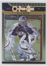 2009-10 O-Pee-Chee Foil Rainbow #344 Dan Ellis Nashville Predators Hockey Card