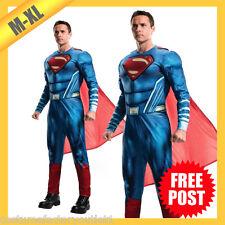 RD 820952 Mens Costume Fancy Dress DC Comics Superman Hero Dawn Of Justice JLM