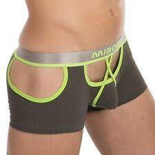 MCT Comfort PUSH-UP Po offen Boxer Shorts Pants BULGE POUCH GRÜN in S M