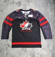 Men's Nike Canada Team Hockey IIHF Replica Jersey Black size M L XL