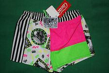 vintage CACAO 90s swimwear swim costume da mare sea boardshorts shorts paprika