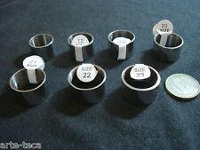 anello metallo argento fascia larga 14 mm uomo donna diverse misure bigiotteria