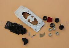 DC' Voiture PORSCHE 917 blanc 1/43 Heco miniatures  le mans diorama course