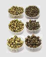 Brass Beads( BI-CONE)Corrugated 4, 5, 6 MM Choose Qty. Raw Brass & Vintage Brass