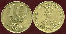 HONGRIE  10 forint  1986