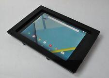 Google Nexus 7 9 10 Pixel C Slate Anti-Theft Acrylic VESA Wall Mount Kit