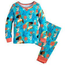 Authentic Disney Princess Moana Pyjama for Girl Kids Sleepwear New