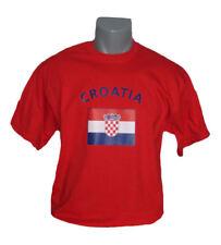 Kroatien T-Shirt Ländershirt Alt. zu Trikot Fussball Handball NEU Croatia EM WM