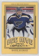 2006-07 Upper Deck Bee Hive Matte #152 Marek Schwarz St. Louis Blues Hockey Card