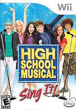 High School Musical: Sing It (Nintendo Wii, 2007)