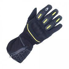 Richa Ladies Waterproof Motorbike / Motorcycle Gloves - Richa Vision Black/ Fluo