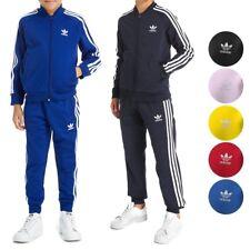 Adidas Originals Superstar Tracksuit Jacket & Pants Junior Boys Youth (XS-XL)