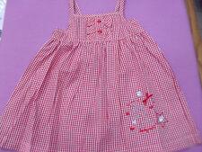 VESTITINO VICHY BABY NIGHT PURO COTONE 3 MESI A 3 ANNI NUOVI ARRIVI ART. 30140