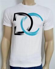 DC Shoes Vinyl T-Shirt Tee Mens White T-Shirt New NWT