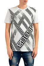 Versace Collection Men's White Graphic Print T-Shirt Sz S M L XL 2XL