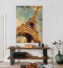 3D Eiffel Tower 524 Wall Stickers Vinyl Murals Wall Print Decal Art AJ STORE AU