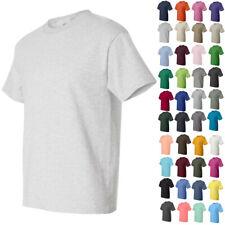Hanes Mens Short Sleeve Crewneck Tees Tops Shirts Beefy-T 5180