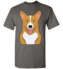 Pembroke Welsh Corgi Dog Cartoon T-Shirt Tee - Men Women Youth Tank Long Sleeve