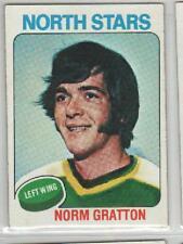 1975-76 Topps Norm Gratton Card