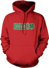 Hooligan Shamrock Irish St Patrick's Day Soccer Drunk Fight Am Hoodie Sweatshirt