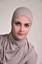 2 pcs AL- Amira hijab-Women Muslim Cotton 2 Pcs Ameera Hijab  Hijab dusty plum