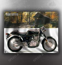 VINTAGE HONDA GB500 MOTORCYCLE BANNER