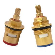 """Replacement Ceramic disc valve taps cartridges quarter turn gland 20 BATH 3/4"""""""