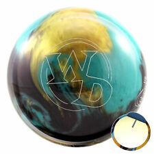 Palla da bowling Columbia 300 bianco Dot Jester 10-15 lbs Spare & STRIKE