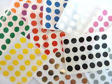 9mm Redondo De Plástico Vinilo dot Pegatinas Pequeño De color Circular
