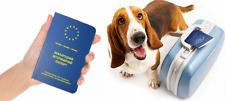 International Animal Pet Passport Clean forms Booklet