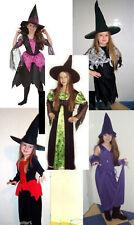 Hexe Zauberin Kinder Kostüm Faschingskostüm Fasching Karneval Karnelvalskostüm